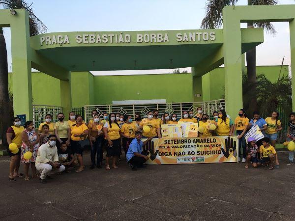 Setembro Amarelo: Assistência Social de Rio dos Bois mobiliza comunidade na Caminhada pela Vida