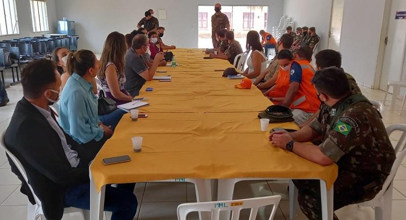 SSP-TO participa de reunião que planeja simulação e treinamento preventivo para situação de rompimento de barragem em Lajeado