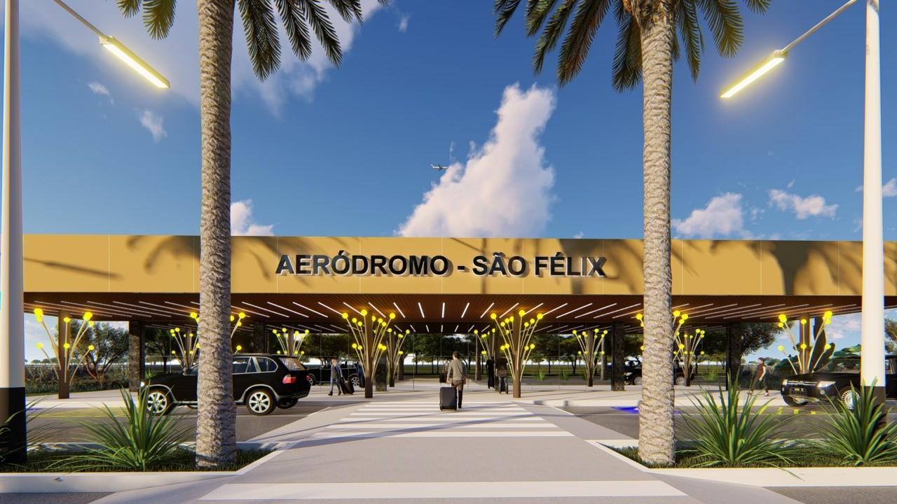 Governo do Tocantins cumpre mais uma etapa para construção do aeródromo de São Félix