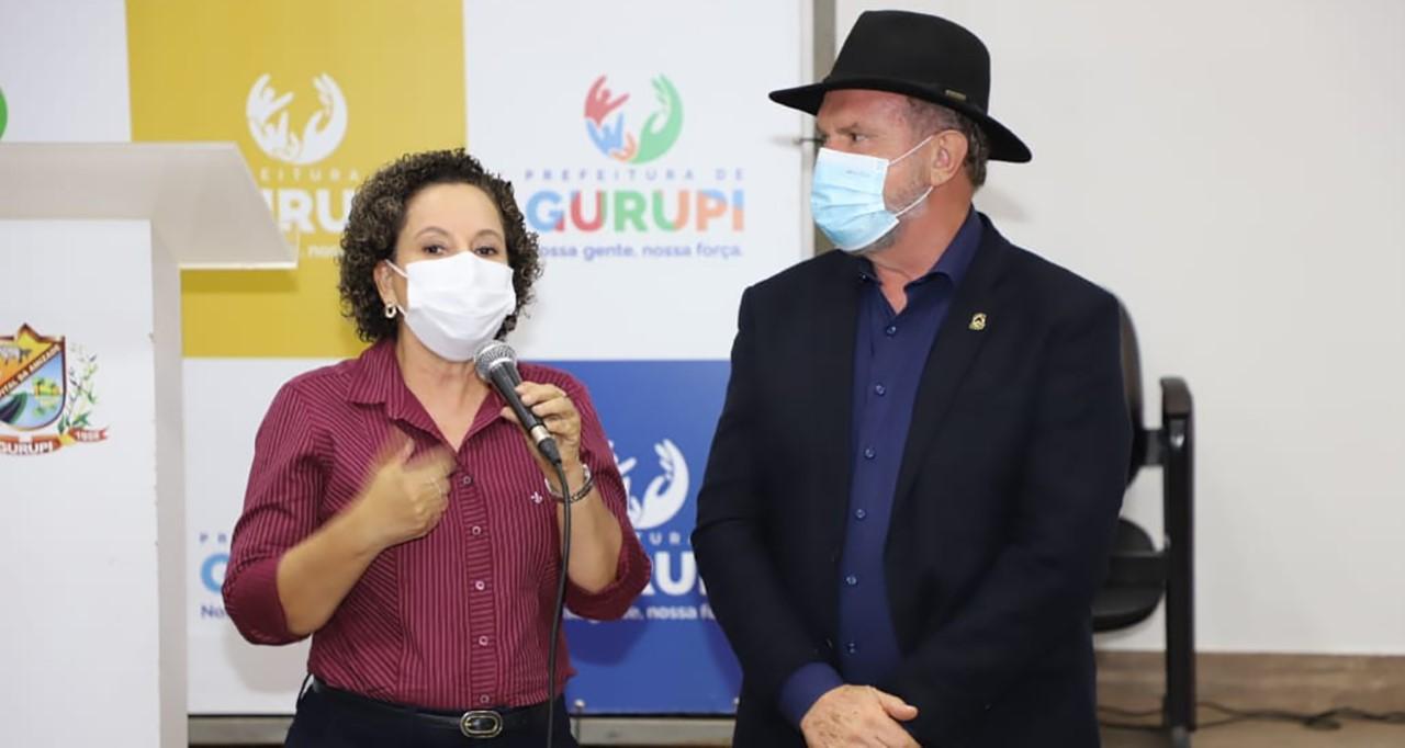 Governador Carlesse e prefeita Josi Nunes discutem projetos estruturantes para Gurupi