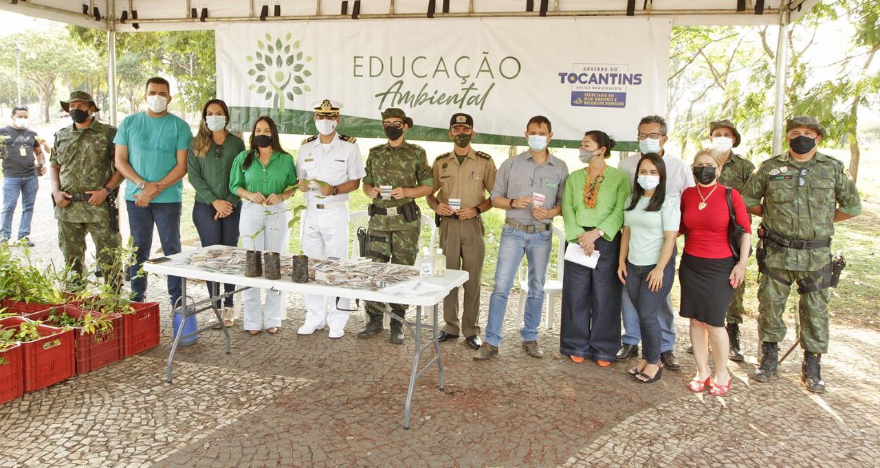 Semarh e parceiros realizam doação de 3.500 mudas e 3 mil sementes