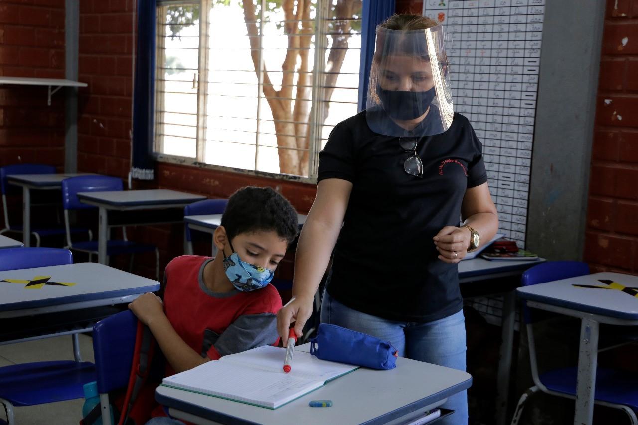 No ensino escalonado, segunda turma volta às aulas presenciais em Gurupi