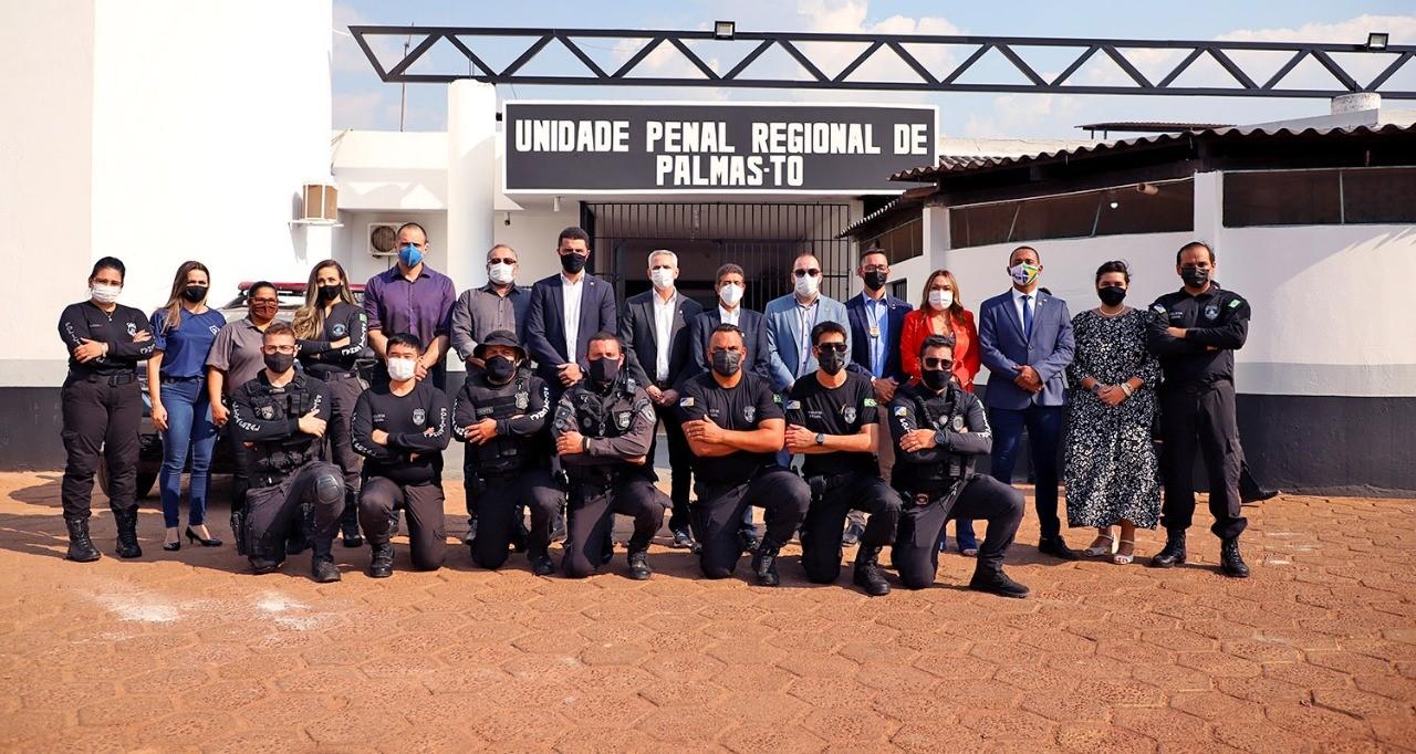 Seciju apresenta Unidade Penal de Palmas à comitiva do Estado de Rondônia