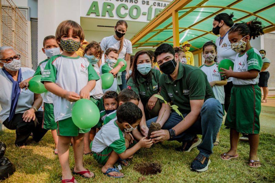 Prefeitura de Paraíso participa de ações em alusão ao Dia da Árvore