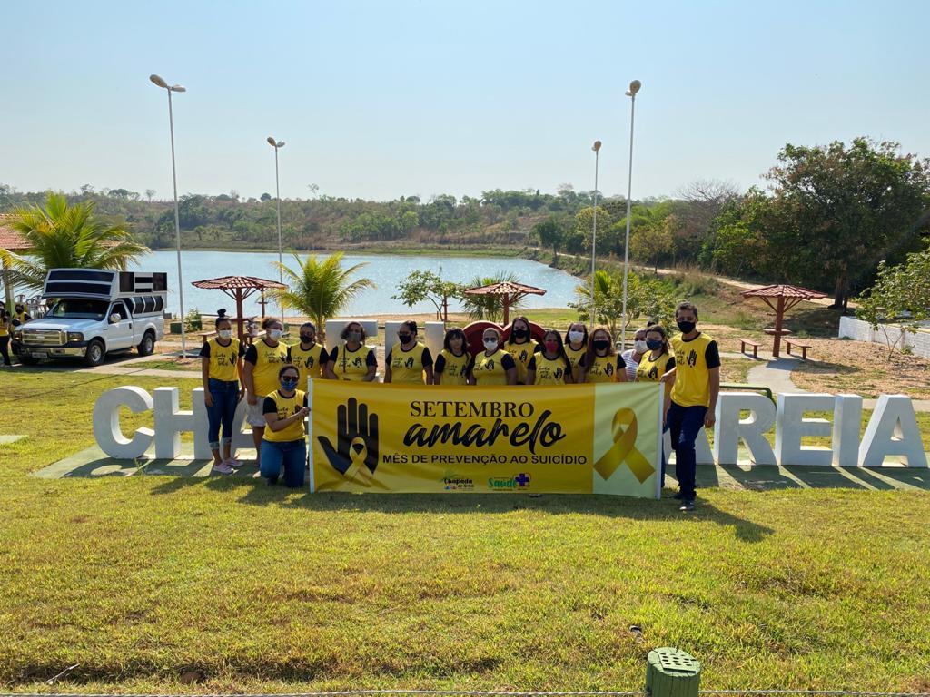 Setembro Amarelo: Caminhada em Chapada de Areia lembra a importância da prevenção ao suicídio