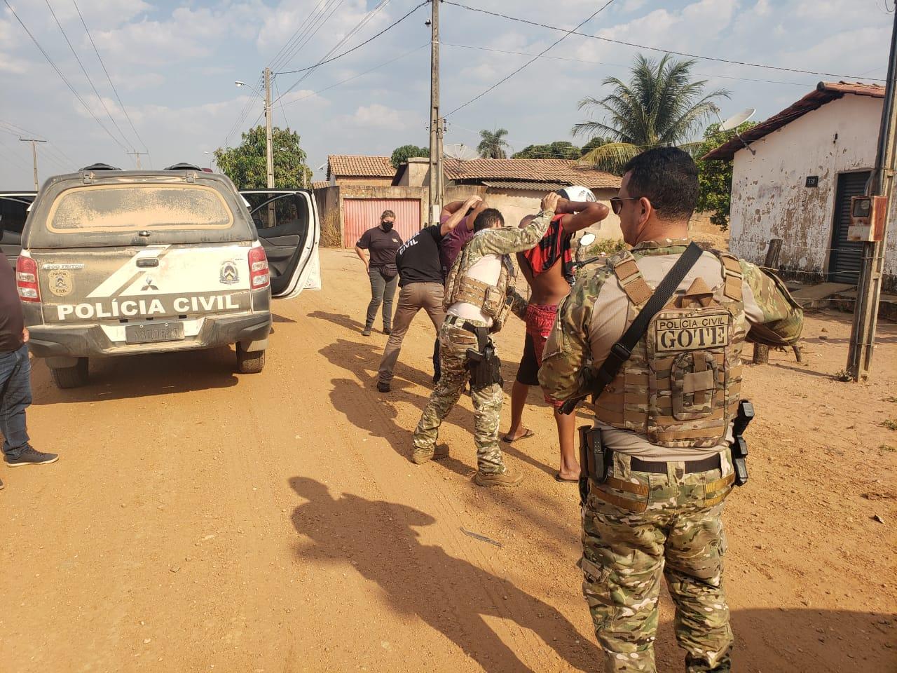 No sudeste do estado, Polícia Civil desencadeia mais uma etapa da operação Hórus