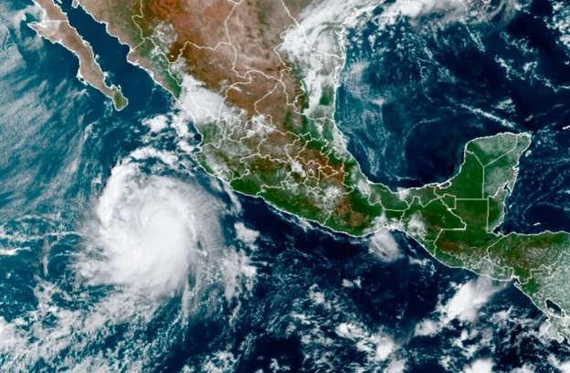 """Furacão """"Pamela"""" ganha força e deve atingir o México nesta quarta, 13"""