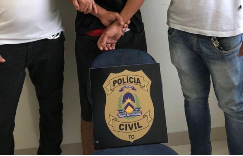 Em Araguaína, Polícia Civil prende homem suspeito de descumprir medida protetiva de urgência