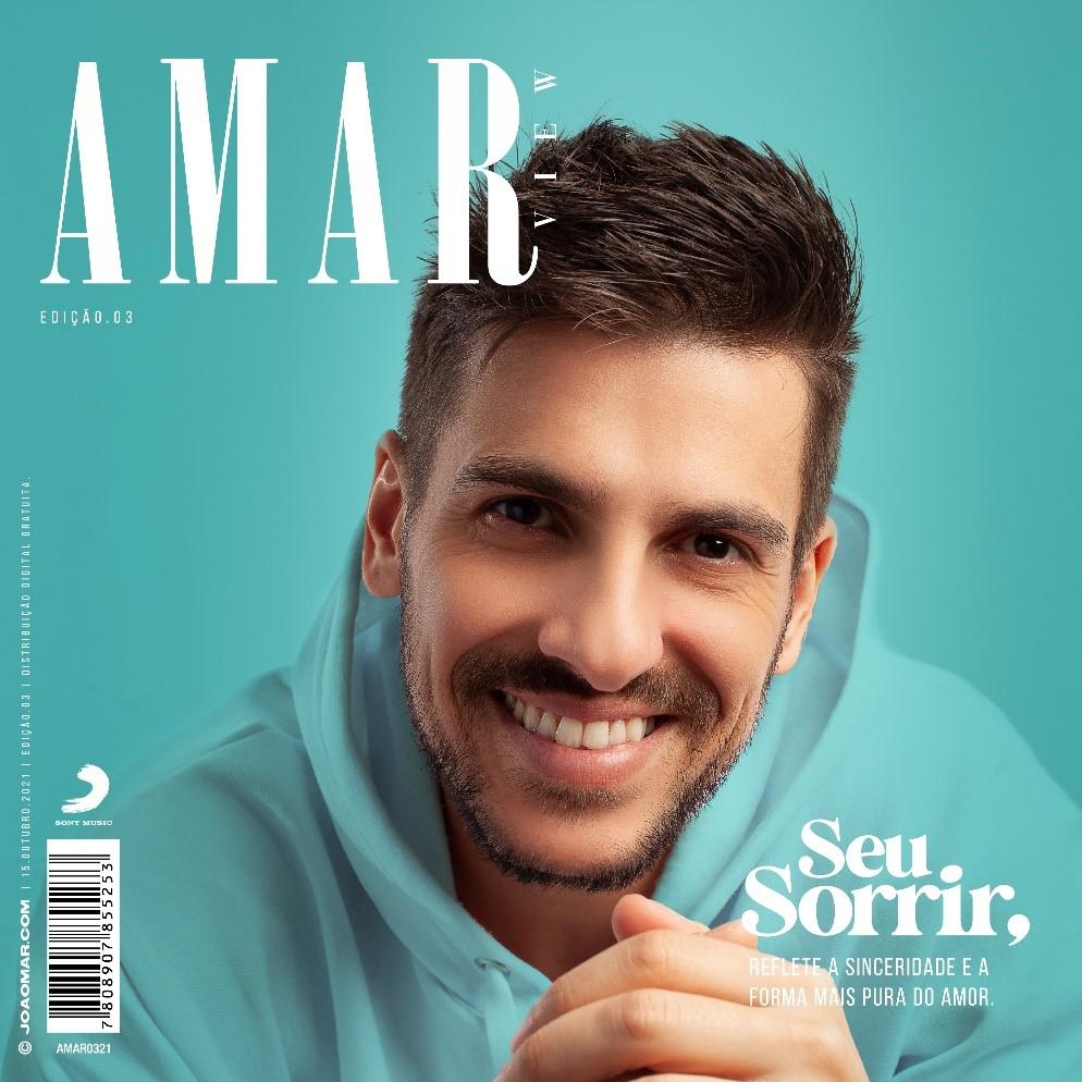 """Com ritmo pop romântico inconfundível, João Mar lança """"Seu Sorrir"""", mais uma faixa do álbum """"AMAR"""