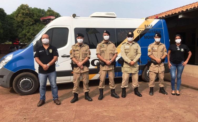 PM recebe Forças de Segurança Pública para implantação de Conselhos Comunitários de Segurança