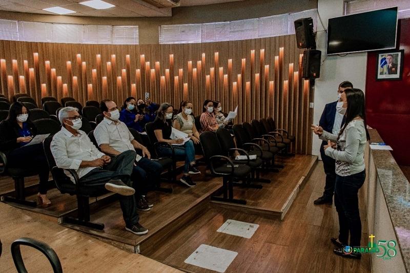 Secretário Arllérico André apresenta Relatório Quadrimestral à Comissão de Saúde da Câmara de Paraíso