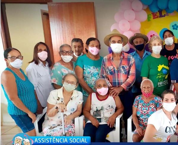 Assistência Social de Marianópolis promove encontro dos idosos do grupo Melhor Idade