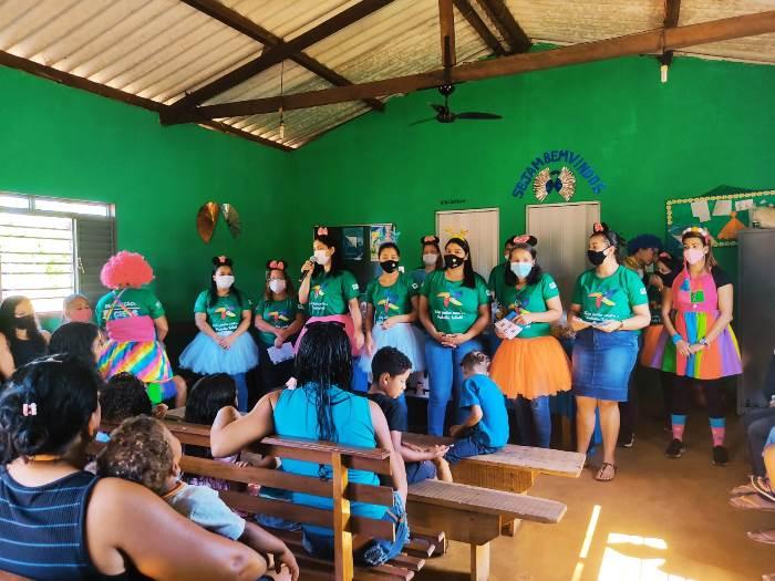 Assistência Social de Miranorte promove reunião do PAIF no assentamento Padre Expedito