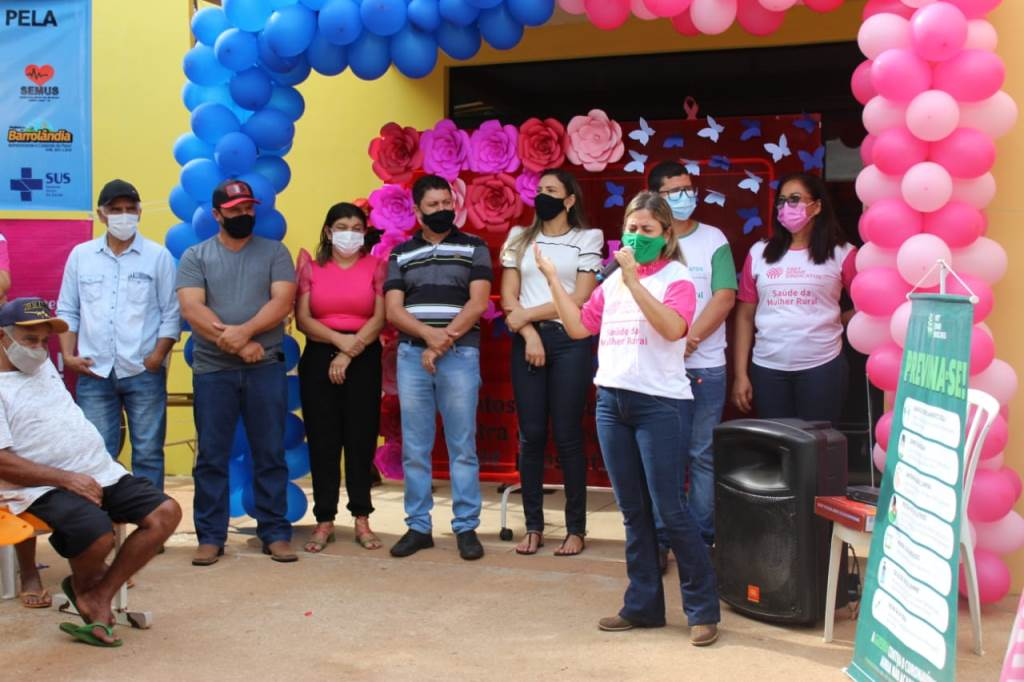 Com apoio da Secretaria de Saúde e Sindicato Rural, Barrolândia recebe Carreta da Saúde do SENAR
