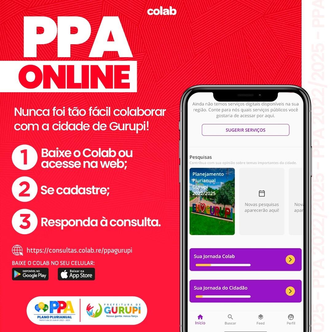 Prefeitura de Gurupi inicia consulta pública do PPA via aplicativo