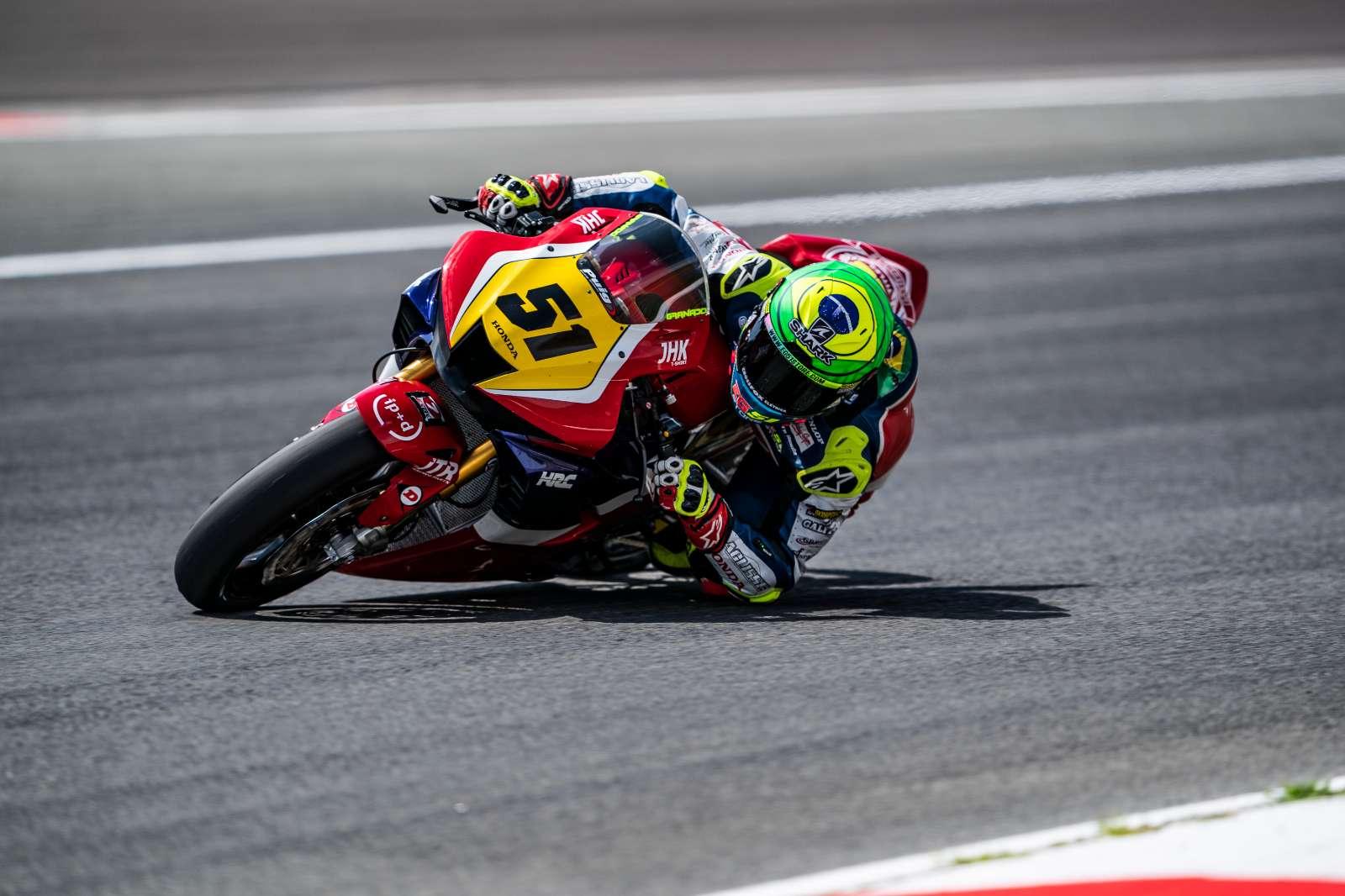 Eric Granado encara sexta e penúltima etapa do Espanhol de Superbike, em Valência