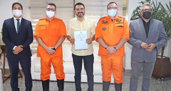 Governador Wanderlei Barbosa nomeia coronel Ornelas para chefiar Estado Maior do Corpo de Bombeiros