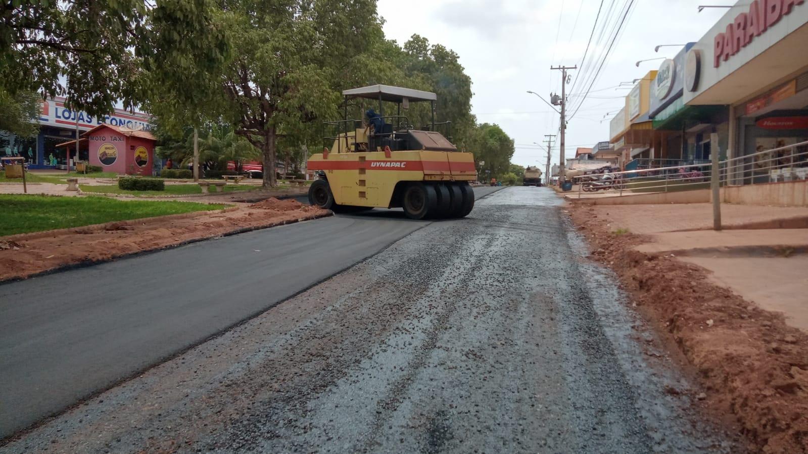 Ageto inicia última fase da reconstrução do perímetro urbano de Augustinópolis