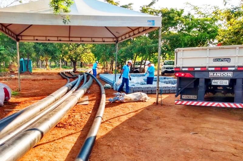 BRK Ambiental inicia nova fase de obras de melhorias do sistema de abastecimento de Luzimangues
