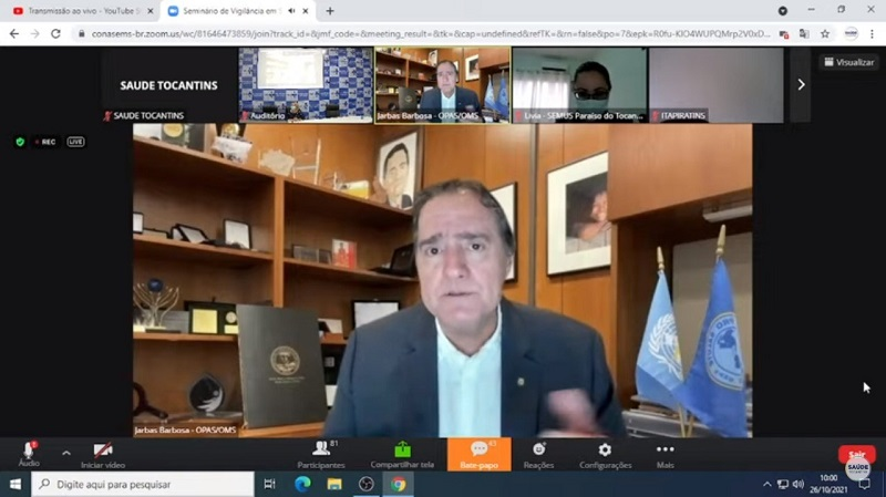 SES-TO promove 1º Seminário de Vigilância em Saúde do Tocantins