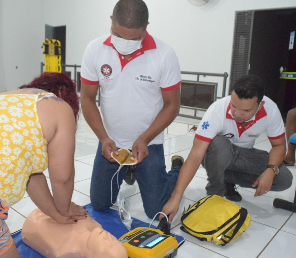 Prefeitura de Palmeiras treina servidores com curso para atendimento de urgências e emergências
