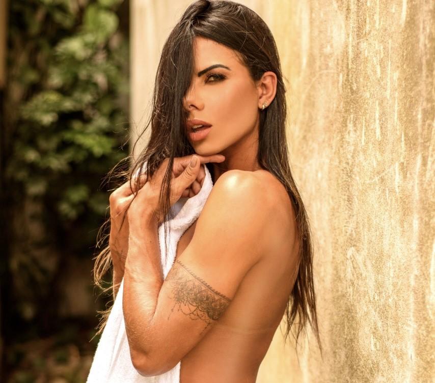 Musa fitness Patrícia Santos fala sobre críticas ao seu corpo e nega usar anabolizantes