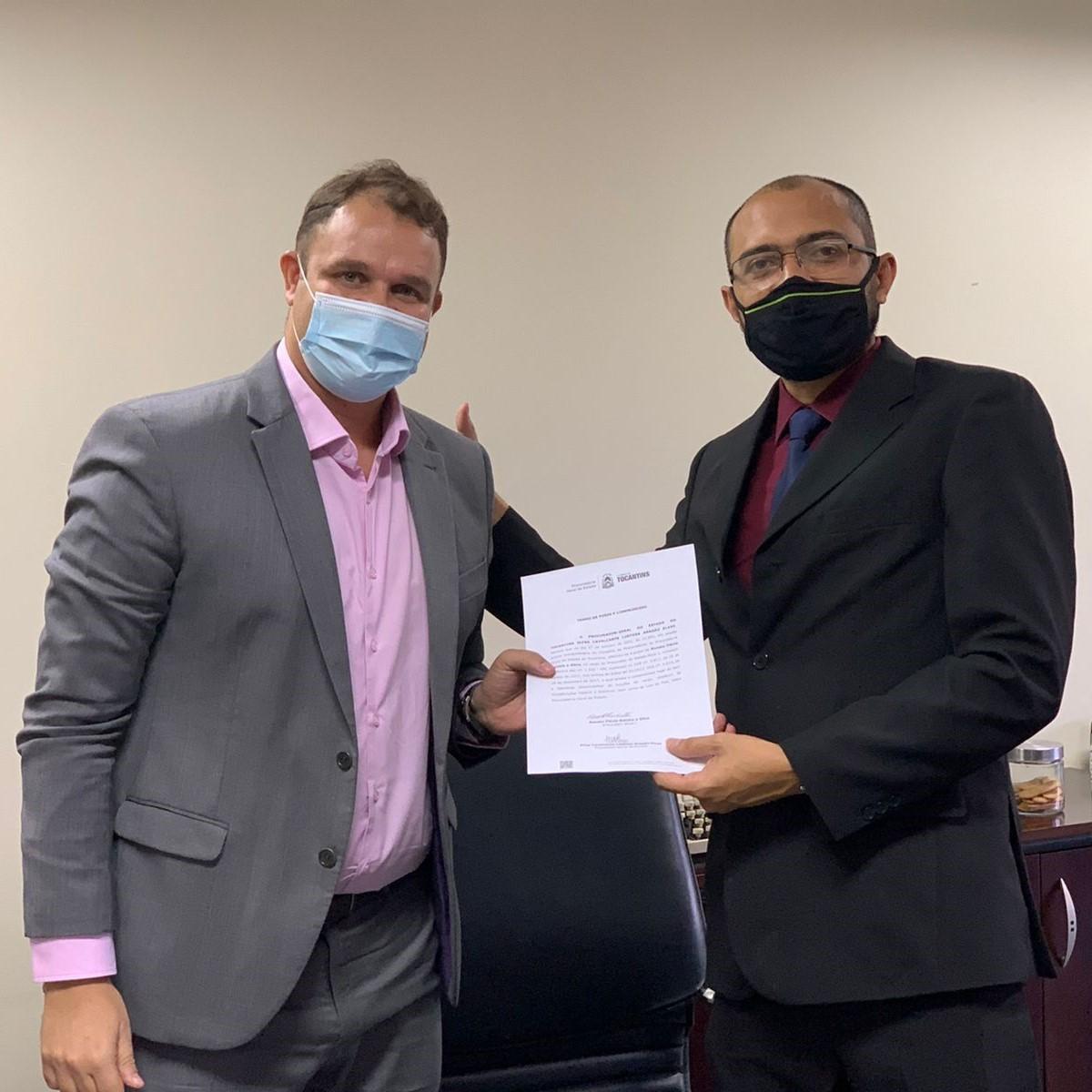 Novo Procurador do Estado do Tocantins é empossado nesta quarta-feira, 27