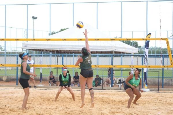 Última etapa do Circuito Amazônia de Vôlei de Praia 2021 reúne atletas em Palmas
