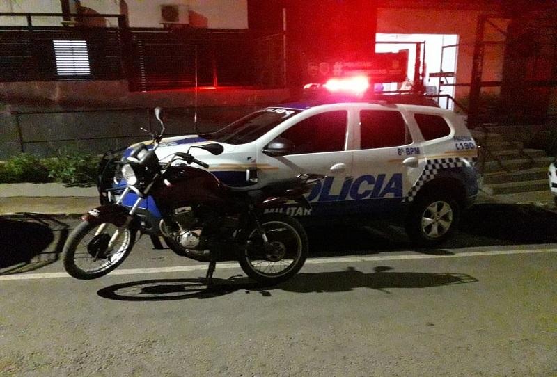 Polícia Militar recupera veículos furtados e prende dois suspeitos em Paraíso do Tocantins