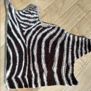 Suri Persian Knot-Zebra