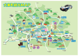 大原観光マップ
