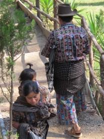 Habits traditionnels, Chimaltenango, Guatemala