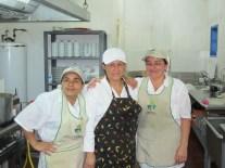 Mes amies des cuisines du centre écotouristique