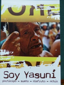 Indigenous and all Ecuadorians Against Oil Extraction in Yasuni National Park