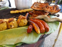 Jacaré (caiman) frit