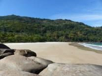Praia maravilhosa et mata âtlantica