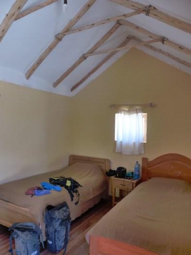 Interior de la habitacion doble