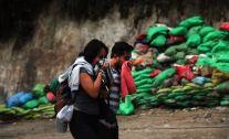 Contamination dans la vallée sous Machu Picchu