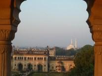 Vue sur Lucknow, grande ville musulmane d'Inde du Nord