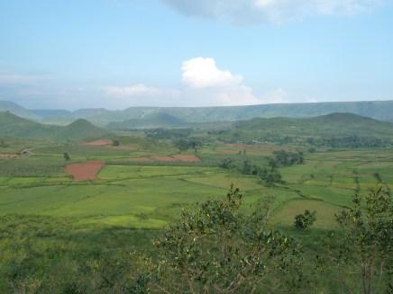 Paysage du sud de l'Orissa