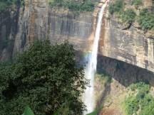 Chute d'eau du Meghalaya, près de Cherrapunjee