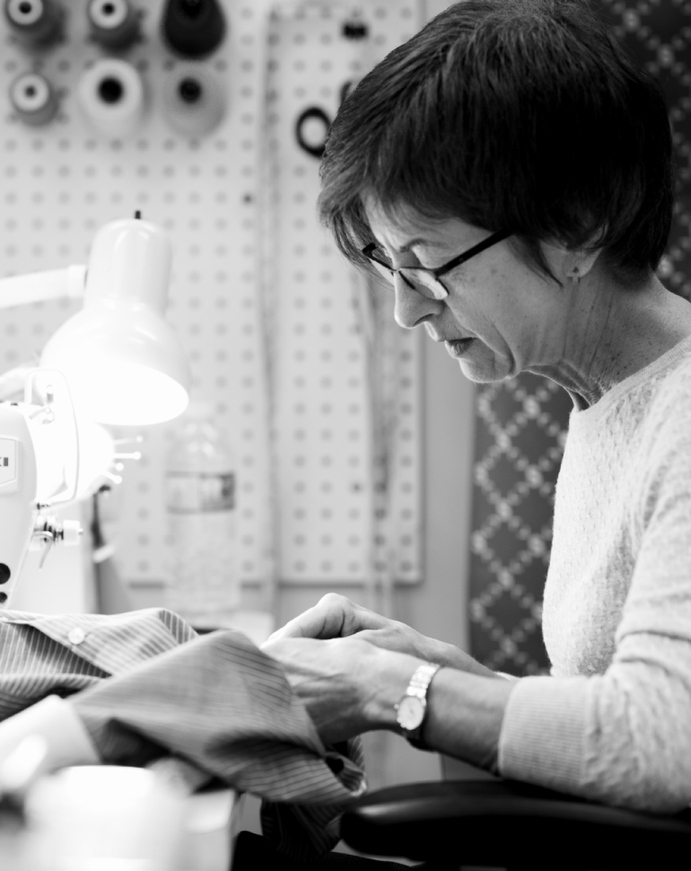 Our Master Tailors can adjust any clothes to fit you perfectly!