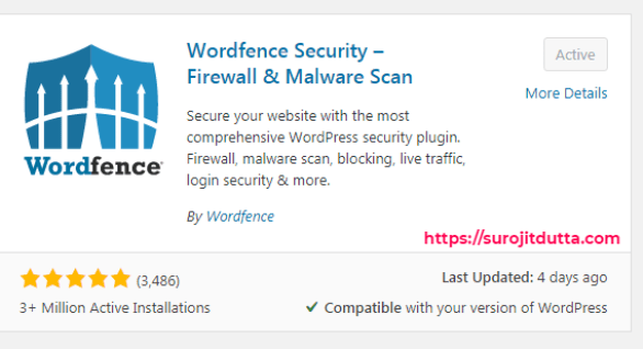 Wordfence Security Plugins