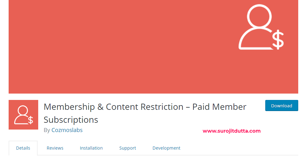 Wordpress Membership And Content Restriction