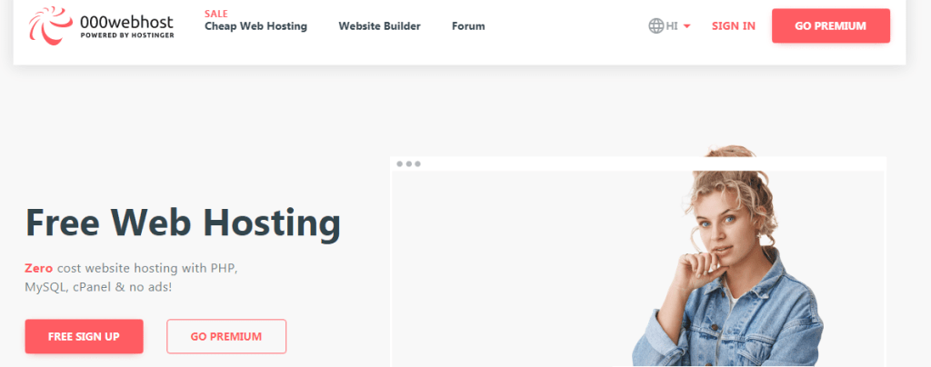000webhost free web hosting sites