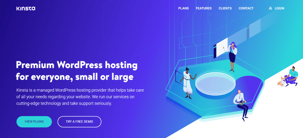Kinsta WordPress Hosting Providers