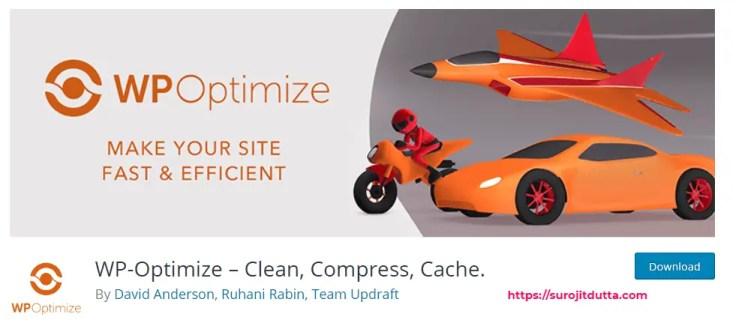 WP Optimize Best WordPress Plugin
