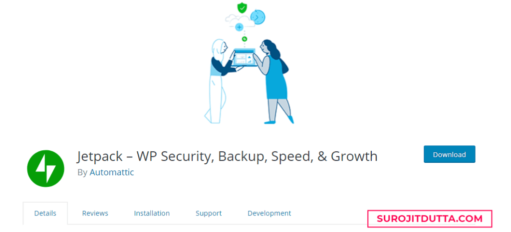 Jetpack WP Security- Another WordPress Backup Plugins
