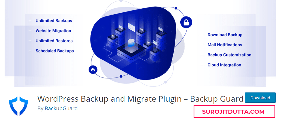 WordPress Backup And Migrate