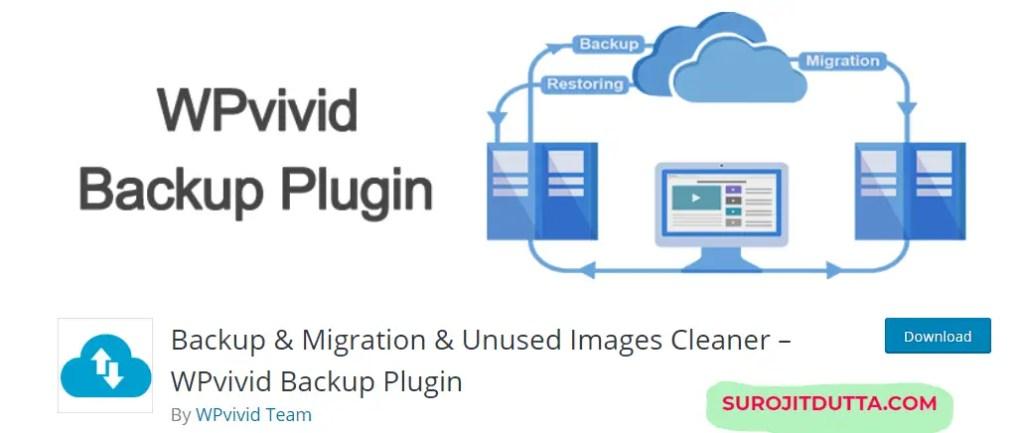 WPvivid backup Plugins